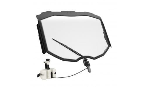 Ветровое стекло триплекс с комплектом стеклоочистителя и омывателя Can am Maverick X3